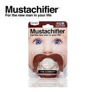 Hipsterkid  美國 鬍子造型嬰兒奶嘴 / 姆指型安撫奶嘴 - 牛仔棕