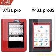 熱賣新款元征x431pro3S診斷儀貼膜x431pro3s+ V2.0汽車檢測儀x431 PAD III屏幕膜x431