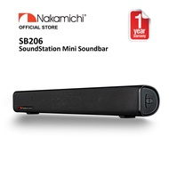 Nakamichi SB206 SoundStation Mini Soundbar With FM