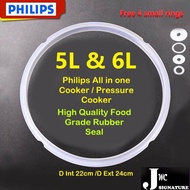 Philips pressure cooker Rubber Seal Ring Universal for 5L and 6L cooker HD2137 HD2139 HD2108 HD2133