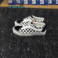VANS Bold Ni Checkerboard Black Mars 棋盤格 黑色 黑白 米白色 格子 帆布 麂皮 板鞋 ULTRACUSH 鞋墊 復古 經典款 VN0A3WLPR6R
