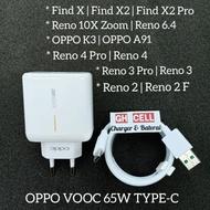 Oppo Reno 5 5 Pro 5f Super Vooc 65w Type-C Original Charger
