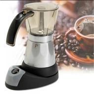 อุปกรณ์ชงกาแฟ หม้อต้มกาแฟ กาต้มกาแฟ เครื่องทำกาแฟ Moka pot ใช้ ไฟฟ้า////พร้อมส่ง กาต้มกาแฟ เครื่องชงกาแฟ กาต้มกาแฟสดแบบพกพา กาชงกาแฟ เหยือกชงกาแฟ หม้อชากาแฟสด