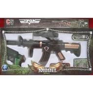 ☆玩具先生☆1:25仿真M16步槍/bb槍/子彈槍/bb彈+迷你手槍/模型檜  原價249 NG價79(79元)
