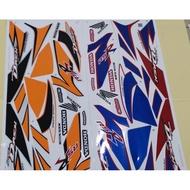 Honda Wave Dash 110 V1 Body Sticker (1)
