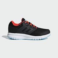 Adidas Galaxy 4 K [B75656] 中童鞋 運動 慢跑 休閒 緩震 舒適 透氣 愛迪達 黑紅