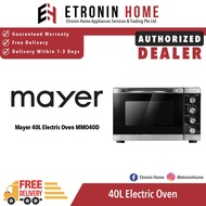 Mayer 40L Electric Oven MMO40D