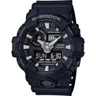 G-SHOCK GA-700系列絕對強悍雙顯腕錶-黑(GA-700-1B)