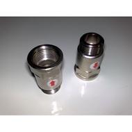 (台灣製造)靜音四分管熱水器專用逆止閥 送接管墊片 熱水器逆止閥 防水槌 靜音逆止閥 防止水倒灌 銅逆止閥 直立式逆止