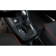 TIGUAN排檔位面板ABS飾板福斯內飾改裝碳纖維非不鏽鋼GHI