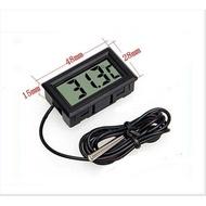 【溫度計】電子數位溫度計 帶探頭 室內外溫度計 魚缸 浴缸 冰箱溫度計 水中溫度計