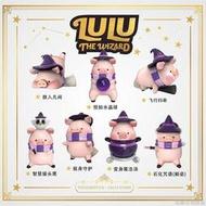 【正版】LULU豬第二彈魔法系列盲盒公仔 潮玩盒抽娃娃公仔 罐頭豬擺件#666