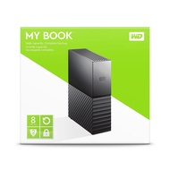 WD My Book 6TB 8TB USB3.0 3.5吋外接硬碟