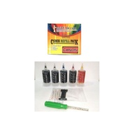 Canon PG-47 Black CL-57 CL-57s Color Ink Cartridge- Refill Back Color ink for printer E400 E410 E460 E470 E480