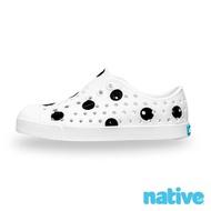 【native】大童鞋 JEFFERSON 小奶油頭鞋(波卡黑點)