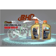 BHP Dash 500 4T 15W40 Semi Synthetic Motorcycle Engine Oil (1 LITTLE)