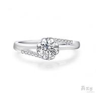 【蘇菲亞珠寶】幸福捧花0.50克拉FVVS1鑽石戒指