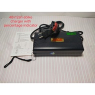 Ebike charger 48volts-12ah applicable for Romai Phoenix,Racal,Nwow