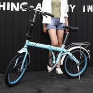 20 inch Mountain bike off-road male female wheel folding bicycle dual disc brakes variable mountain bike bicycles road bike