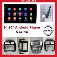"9"" 10"" Android Player Casing for Nissan (Sentra N16/Almera/Latio/Sylphl)"