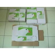 二手郵局便利箱 台中6元可面交 搬家 紙箱 紙盒 紙板 披薩盒 宅配箱 現貨供應