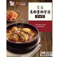 【韓味不二】馬鈴薯排骨湯(1kg)