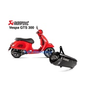[Seer] Akrapovic 現貨 2020 Vespa GTS 300 super 蠍子管 黑蠍