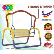 🇲🇾 3V CM650 XXL Size Adult Indoor Outdoor Metal Solid Garden Kiddie Swing Chair Children Playground Toy Buaian Taman