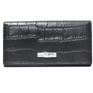 Longchamp Roseau Croco Continental Wallet