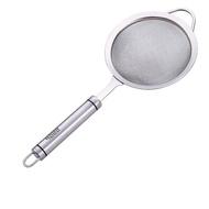 【PUSH!】廚房用品304不銹鋼濾網勺果汁過濾網勺廚房漏勺豆漿過濾網篩火鍋濾網(D71-1大號)