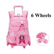 กระเป๋าล้อลากสำหรับเด็กผู้หญิง,กระเป๋าเดินทางล้อลากไปโรงเรียนมีล้อลาก