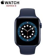 Apple Watch Series 6 GPS+LTE版 44mm 藍色鋁金屬錶殼配藍色運動錶帶(M09A3TA/A)