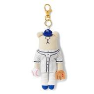 CRAFTHOLIC 宇宙人 棒球選手熊吊飾