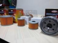 駿馬車業YAMAHA HONDA KAWASAKI SUZUKI BMW DUCATI CPI各種 重機 機油蕊 機油芯 機油濾清器 含磁石