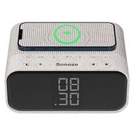 【環保鬧鐘】ZTATION無線充電藍牙鬧鐘—FM收音機 爸爸生日禮物