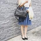 SOF JAPAN | 日本雜誌款  都會典雅軟牛皮手提/側背兩用包