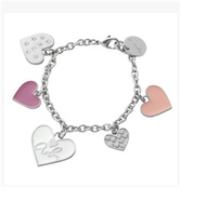 Authentic Agnes B / Charm bag/bracelets/ Key pouch /  direct from Japan!