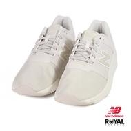 New Balance 24 米色 織布 皮質 套入式 休閒運動鞋 女款 NO.I9328【新竹皇家】