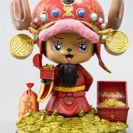 【火爆手办】海賊王 喬巴 COS福祿壽  雕像 手辦模型 禮物 擺件動漫二次元公仔
