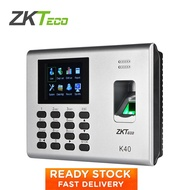 ZKTeco K40 Fingerprint Attendance Machine Time Clock RFID Card Attendance Clock Time Recorder Office Door Access Control