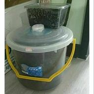 蚯蚓養殖盒&蚯蚓養殖桶套裝組合