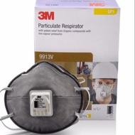 【現貨秒出】3M 9913v口罩有呼吸閥 活性炭口罩 武漢肺炎防疫必備成人口罩