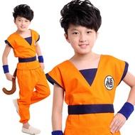 KD 5 ชูดโกคูเด็ก โงกุน สำนักผู้เฒ่าเต่า ดราก้อนบอล Dress for Kid Goku Dragonball suit Dragon ball Costumes Cartoon Anime Cosplay Fancy Outfit