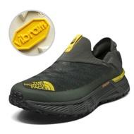 【美國 The North Face】男款 輕量戶外透氣休閒鞋.懶人鞋.慢跑鞋/Vibram XS Trek橡膠外底/39I5 綠/黃 V