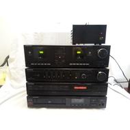@ GRUNDIG 歌蘭蒂音響一組 cd 卡帶 收音機 擴大機...h4