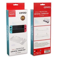 OIVO Nintendo Switch NS 主機TPU保護套 +保護貼 IV-SW036