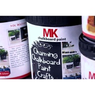 MK Chalkboard Paint 1 Liter / Chalk Board Paint / Blackboard Paint