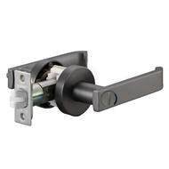 EZset 東隆 日規鎖JB2BN30水平把手鎖 水平鎖 門鎖 浴廁門用 (無鑰匙)★黑鎳磨砂★特殊靜音設計