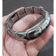 水晶玉石特賣❤天然 太赫茲 鈦赫茲手排 能量石手珠手鍊DIY串珠項鍊#A305