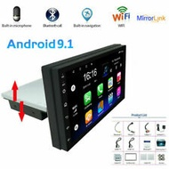 Android 9.1 Single 1Din Car Stereo Auto Radio MP5 Player 7in HD GPS Navi WIFI